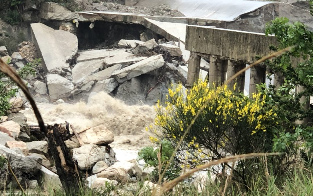 Dissesto idrogeologico del fiume Marecchia, cause e strategie di soluzione.